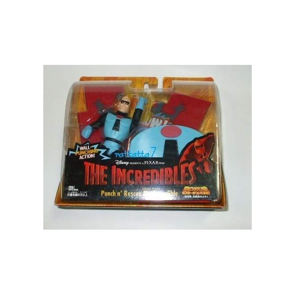 インクレディブル・ファミリー グッズ ミスターインクレディブル フィギュア 人形 おもちゃ [Mr. Incredibles] Super Action Figure Mr. Incredible (blue) [Punch n` Rescue Mr.lncredible]