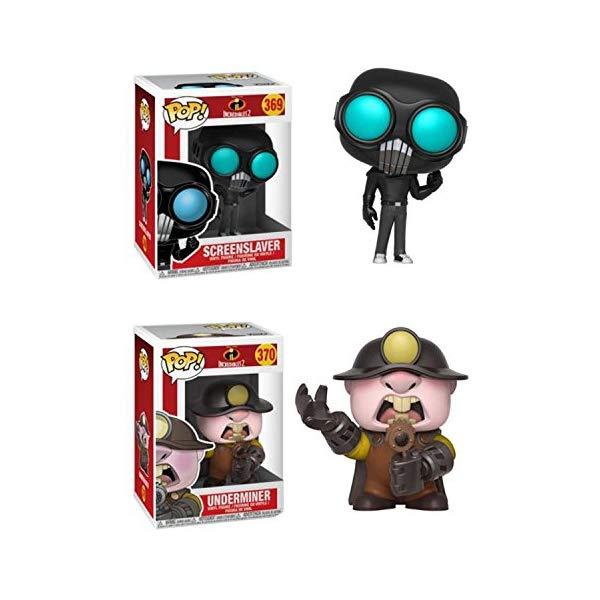 Violet and Dash Toy Action Figure Funko POP Disney Pixar The Incredibles 2 Movie 2 POP BUNDLE