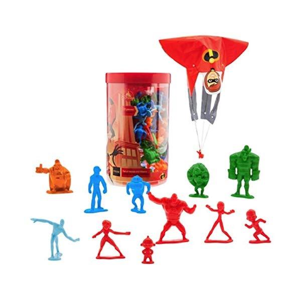 インクレディブル・ファミリー グッズ ミスターインクレディブル イラスティガール フィギュア 人形 おもちゃ Disney Parks Tub of Incredibles 2 Heroes and Villains Figures