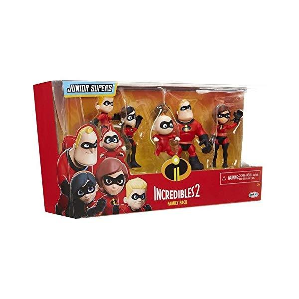 インクレディブル・ファミリー グッズ ミスターインクレディブル フィギュア 人形 おもちゃ Game, Fun, 5pcs/lot The Incredibles 2 Mr. Incredibles Dash Parr Jack Parr Elastigirl PVC Action Figure Model Toys 4-10cm, Toy, Play