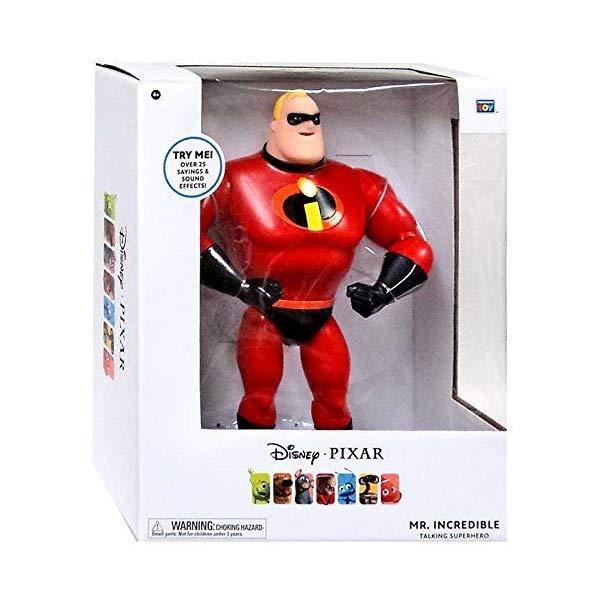 インクレディブル・ファミリー グッズ ミスターインクレディブル フィギュア 人形 おもちゃ Thinkway Toys Disney Pixar Mr. Incredible 13 inches superhero Talking figure Mr. Incredible / Disney PIXAR 2014 Mr.ICREDIBLE
