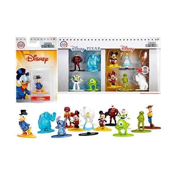 インクレディブル・ファミリー グッズ フィギュア Disney Figure Collection Pack Mini Metal Mickey & Minnie Mouse / Kermit & Animal Muppets / Alice in Wonderland & Monsters Inc. / Pixar / Scrooge / Mr. Incredible / Stitch 11 Character Set