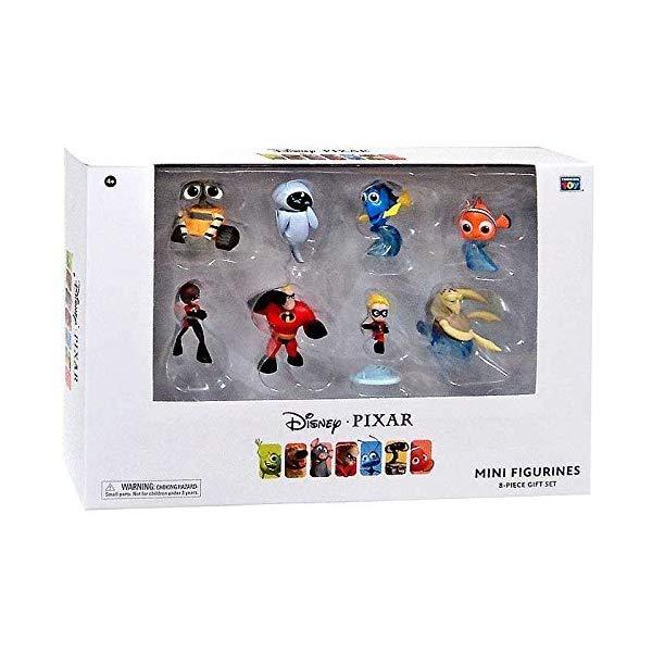 インクレディブル・ファミリー グッズ ミスターインクレディブル フィギュア 人形 おもちゃ Disney Pixar 2 inches Collectible Figure 8 piece gift set [Finding Nemo / Wally / Mr. Incredible] Disney PIXAR
