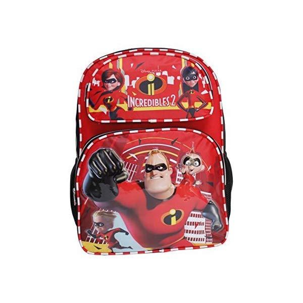 インクレディブル・ファミリー グッズ ミスターインクレディブル バックパック リュック バッグ カバン 鞄 Disney The Incredibles 2 Black & Red 16