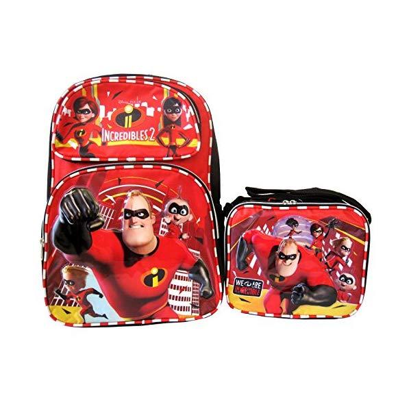 インクレディブル・ファミリー グッズ ミスターインクレディブル バックパック リュック バッグ カバン 鞄 Disney Pixar Incredibles 2 16