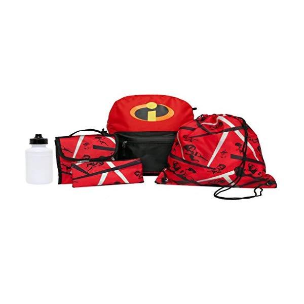 インクレディブル・ファミリー グッズ ミスターインクレディブル バックパック リュック バッグ カバン 鞄 Incredibles 2 Backpack Set Cinch Sack Water Bottle Lunch Bag Tote 5 PIECE SET