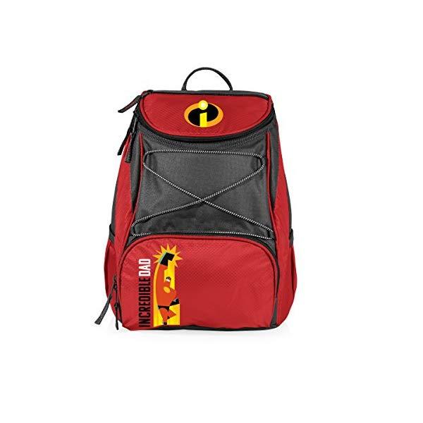 インクレディブル・ファミリー グッズ ミスターインクレディブル バックパック リュック バッグ カバン 鞄 Pixar Disney Incredibles 2 Mr. Incredible PTX Insulated Cooler Backpack, Red