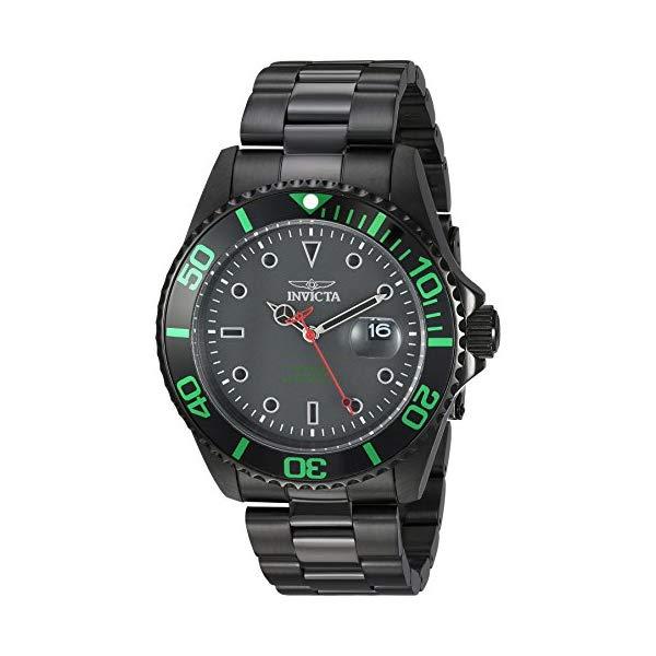 インビクタ 腕時計 INVICTA インヴィクタ 時計 プロダイバー Invicta Men's 'Pro Diver' Quartz Stainless Steel Diving Watch, Color:Black (Model: 23009)