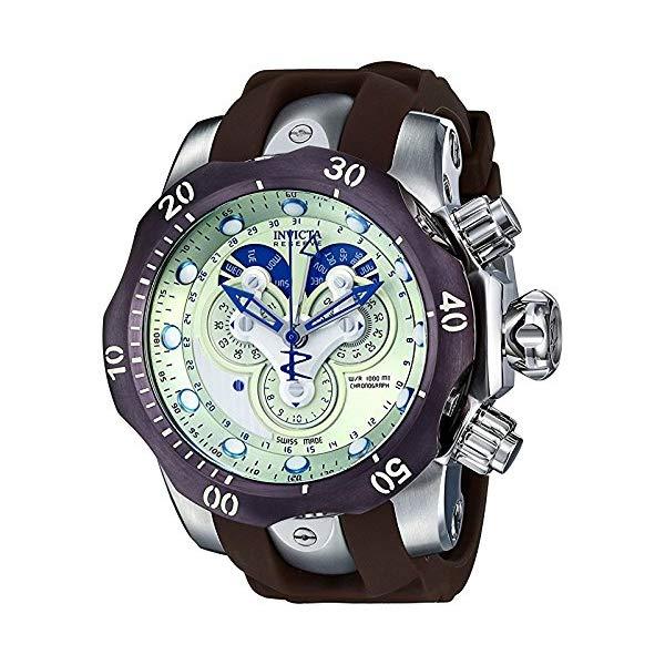 インビクタ 腕時計 INVICTA インヴィクタ 時計 ベノム ヴェノム Invicta Men's 14461 Venom Analog Display Swiss Quartz Brown Watch