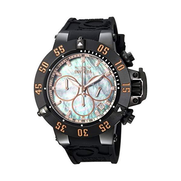 インビクタ 腕時計 INVICTA インヴィクタ 時計 サブアクア Invicta Men's 'Subaqua' Quartz Metal and Silicone Casual Watch, Color:Black (Model: 22921)