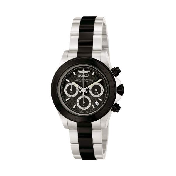 <title>インビクタ 腕時計 INVICTA インヴィクタ 時計 スピードウェイ Invicta Men's 6934 Speedway アウトレットセール 特集 Collection Chronograph Black and Silver Stainless Steel Watch</title>