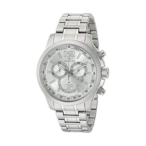 """インビクタ 腕時計 INVICTA インヴィクタ 時計 スペシャリティ Invicta Men""""s 0078 Specialty Collection Chronograph Stainless Steel Watch"""