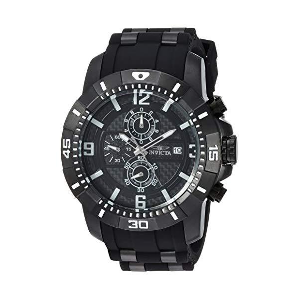 インビクタ 腕時計 INVICTA インヴィクタ 時計 プロダイバー Invicta Men's 'Pro Diver' Quartz Stainless Steel Casual Watch, Color:Black (Model: 24967)