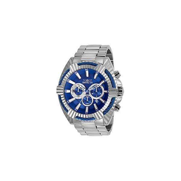インビクタ 腕時計 INVICTA インヴィクタ 時計 ボルト Invicta Bolt Chronograph Blue Dial Stainless Steel Mens Watch 27191