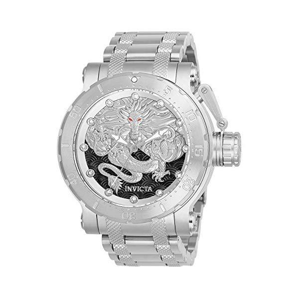 インビクタ 腕時計 INVICTA インヴィクタ 時計 フォース Invicta Men's 26510 Coalition Forces Automatic 3 Hand Silver, Black Dial Watch