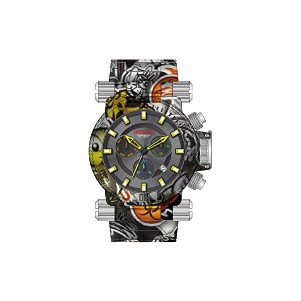 インビクタ 腕時計 INVICTA インヴィクタ 時計 フォース Invicta Coalition Forces Chronograph Black Dial Mens Watch 26449