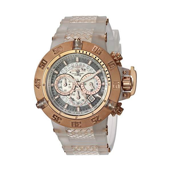 インビクタ 腕時計 INVICTA インヴィクタ 時計 サブアクア Invicta Men's 'Subaqua' Quartz Stainless Steel and Silicone Casual Watch, Color:White (Model: 24362)