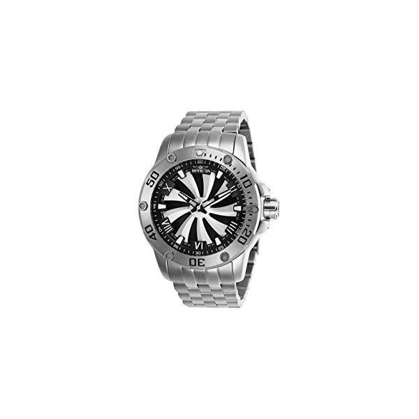 インビクタ 腕時計 INVICTA インヴィクタ 時計 スピードウェイ Invicta Men's 25847 Speedway Automatic Chronograph Silver, Black Dial Watch