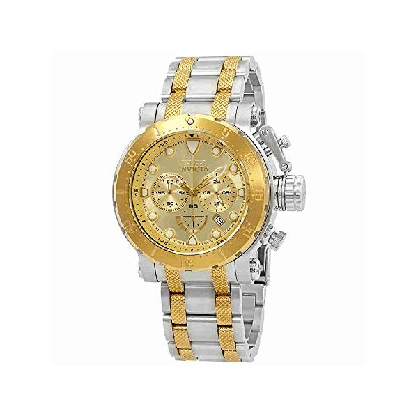 インビクタ 腕時計 INVICTA インヴィクタ 時計 フォース Invicta Men's 26499 Coalition Forces Quartz Chronograph Gold Dial Watch