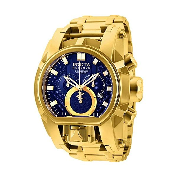 インビクタ 腕時計 INVICTA インヴィクタ 時計 リザーブ Invicta Reserve Men's 52mm Bolt Zeus Magnum Swiss Quartz Dual Movement Bracelet Watch (25209)