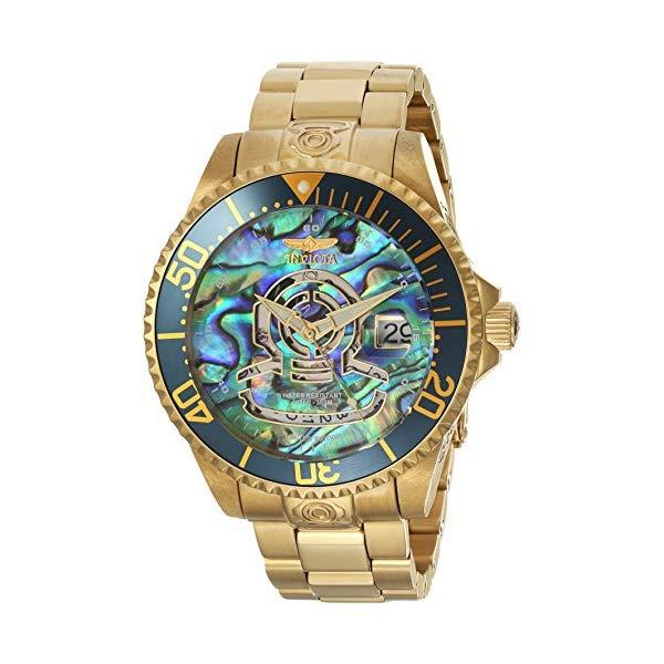 インビクタ 腕時計 INVICTA インヴィクタ 時計 プロダイバー Invicta Men's 'Pro Diver' Automatic Stainless Steel Diving Watch, Color:Gold-Toned (Model: 23454)