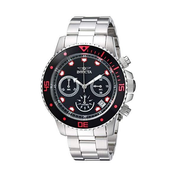 インビクタ 腕時計 INVICTA インヴィクタ 時計 プロダイバー Invicta Men's 'Pro Diver' Quartz Stainless Steel Casual Watch, Color:Silver-Toned (Model: 21885)