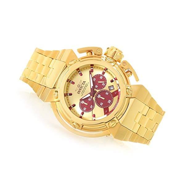 インビクタ 腕時計 INVICTA インヴィクタ 時計 エックスウィングInvicta X-Wing Quartz Chronograph Men's 46mm Stainless Steel Bracelet Watch (26575)