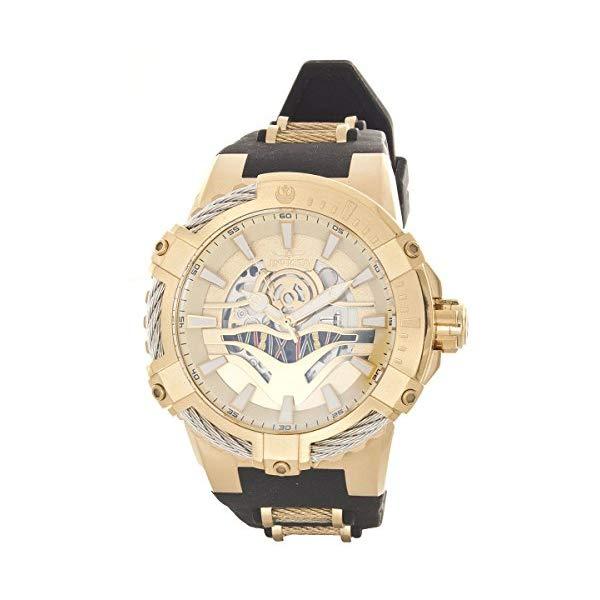 インビクタ 腕時計 INVICTA インヴィクタ 時計 スターウォーズ Invicta Men's Two-Tone Gold Limited Edition C-3PO Star Wars Edition Watch 26224