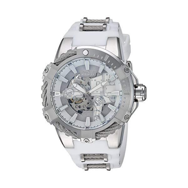 インビクタ 腕時計 INVICTA インヴィクタ 時計 スターウォーズ Invicta Men's 'Star Wars' Automatic Stainless Steel and Silicone Watch, Color White (Model: 26222)