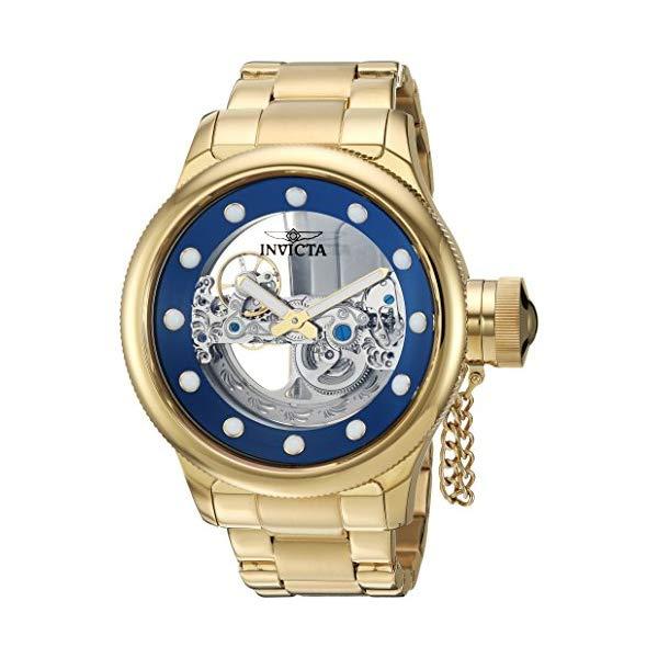 インビクタ 腕時計 INVICTA インヴィクタ 時計 ロシアンダイバー Invicta Men's 'Russian Diver' Automatic Stainless Steel Casual Watch, Color:Gold-Toned (Model: 26270)