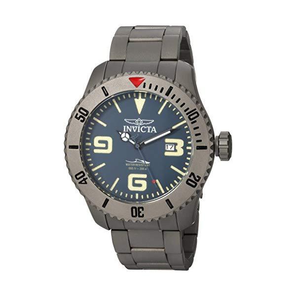 インビクタ 腕時計 INVICTA インヴィクタ 時計 プロダイバー Invicta Men's 'Pro Diver' Automatic Titanium Diving Watch, Color Silver-Toned (Model: 23127)