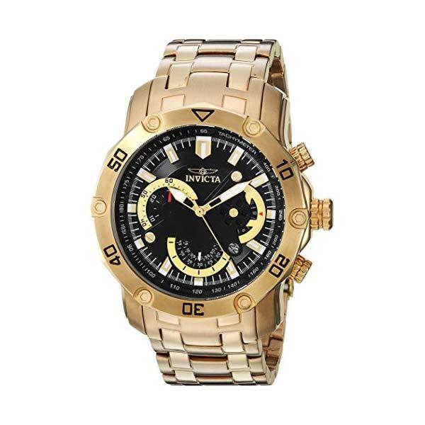 インビクタ 腕時計 INVICTA インヴィクタ 時計 プロダイバー Invicta Men's 'Pro Diver' Quartz and Stainless Steel Casual Watch, Color:Gold-Toned (Model: 22767)