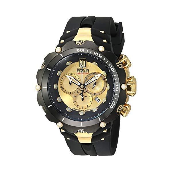 インビクタ 腕時計 INVICTA インヴィクタ 時計 ジェイソン テイラー Invicta Men's 14416 Jason Taylor Analog Display Swiss Quartz Black Watch