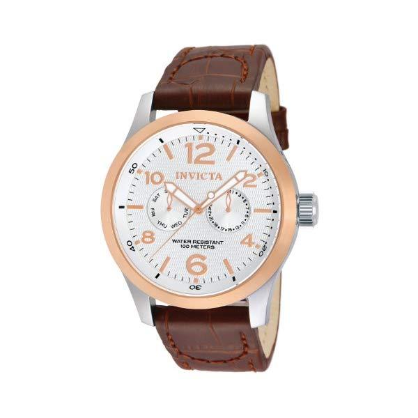 インビクタ 腕時計 INVICTA インヴィクタ 時計 フォース Invicta Men's 13010 I-Force Stainless Steel Watch with Brown Leather Band