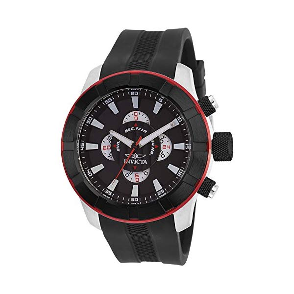 インビクタ 腕時計 INVICTA インヴィクタ 時計 エスワン ラリーInvicta Men's 18610 S1 Rally Analog Display Japanese Quartz Black Watch