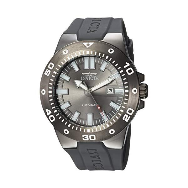 インビクタ 腕時計 INVICTA インヴィクタ 時計 プロダイバー Invicta Men's 'Pro Diver' Automatic Stainless Steel and Polyurethane Casual Watch, Color Grey (Model: 23483)