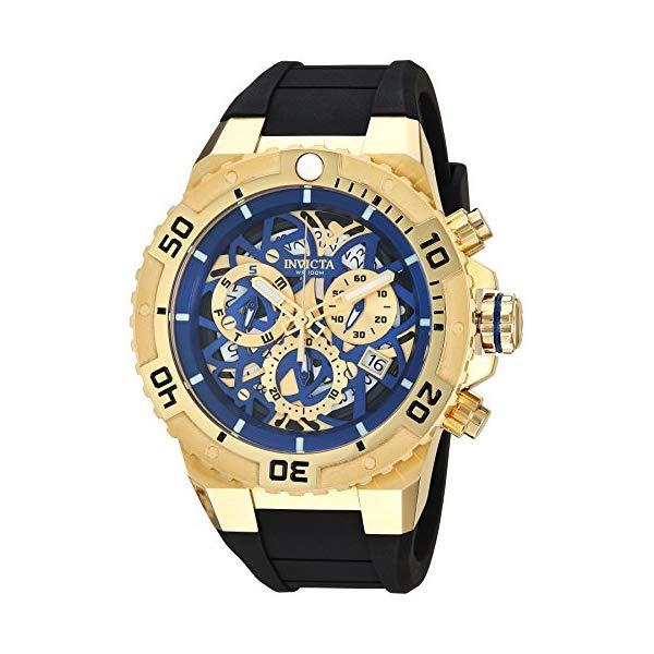 インビクタ 腕時計 INVICTA インヴィクタ 時計 プロダイバー Invicta Men's 'Pro Diver' Quartz Stainless Steel and Silicone Casual Watch, Color:Black (Model: 26071)
