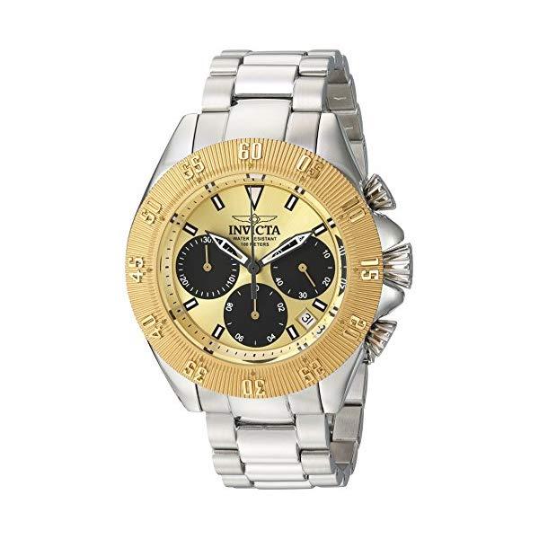 インビクタ 腕時計 INVICTA インヴィクタ 時計 スピードウェイ Invicta Men's 'Speedway' Quartz Gold and Stainless Steel Casual Watch, Color:Silver-Toned (Model: 22398)