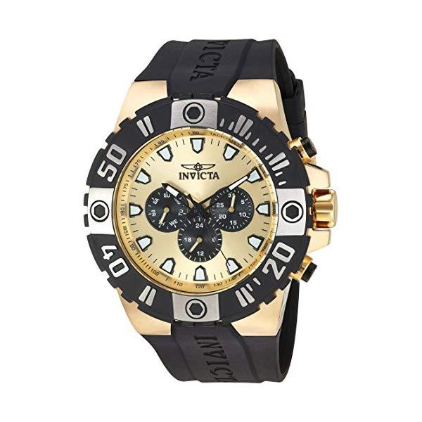 インビクタ 腕時計 INVICTA インヴィクタ 時計 プロダイバー Invicta Men's 'Pro Diver' Quartz Stainless Steel and Polyurethane Casual Watch, Color Black (Model: 23971)
