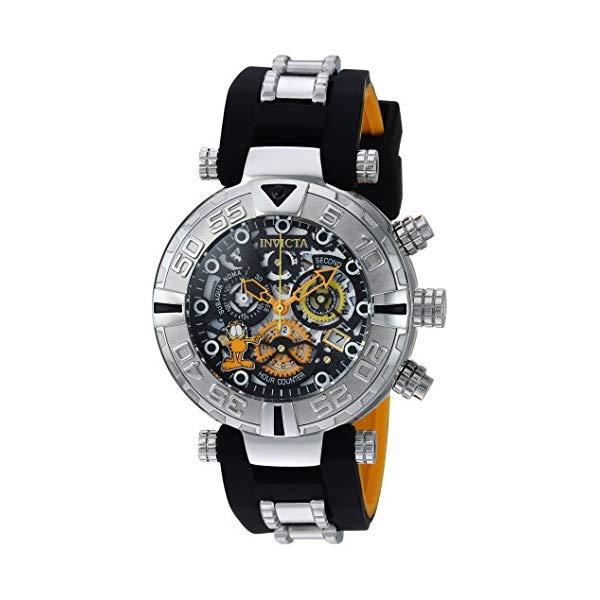 インビクタ 腕時計 INVICTA インヴィクタ 時計 ガーフィールド Invicta Men's 'Character Collection' Quartz Stainless Steel and Silicone Casual Watch, Color Two Tone (Model: 24878)