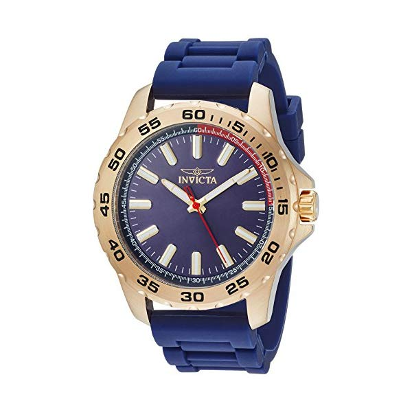 インビクタ 腕時計 INVICTA インヴィクタ 時計 プロダイバー Invicta Men's 'Pro Diver' Quartz Stainless Steel and Silicone Casual Watch, Color:Blue (Model: 21942)