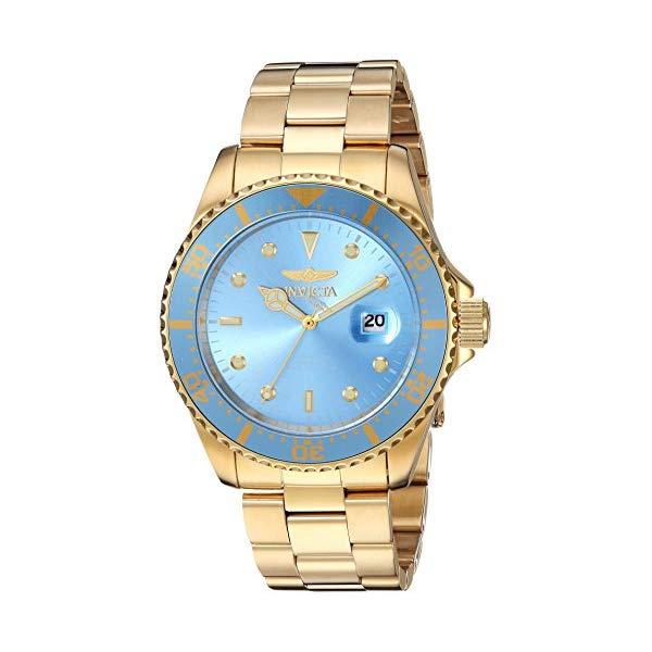 インビクタ 腕時計 INVICTA インヴィクタ 時計 プロダイバー Invicta Men's 'Pro Diver' Quartz Stainless Steel Diving Watch, Color Gold-Toned (Model: 22066)