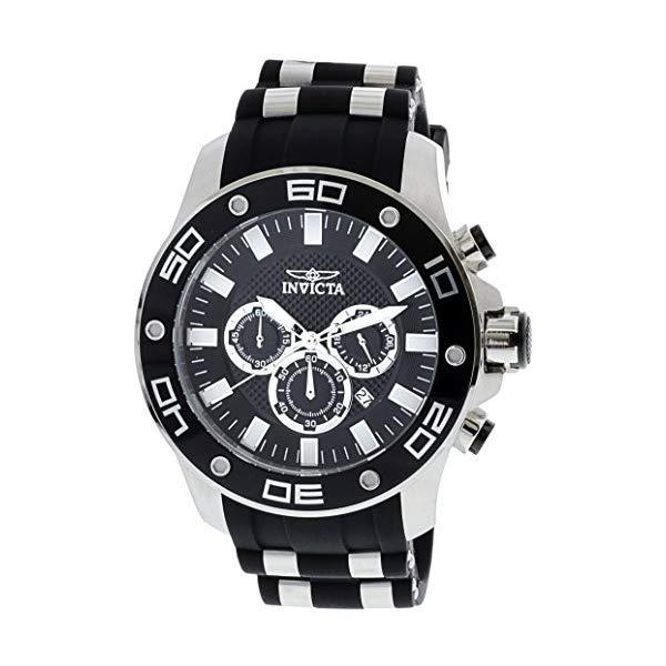 インビクタ 腕時計 INVICTA インヴィクタ 時計 プロダイバー Invicta Pro Diver Chronograph Black Dial Mens Watch 26084