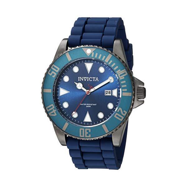 インビクタ 腕時計 INVICTA インヴィクタ 時計 プロダイバー Invicta Men's 'Pro Diver' Quartz Stainless Steel and Silicone Casual Watch, Color:Blue (Model: 90306)
