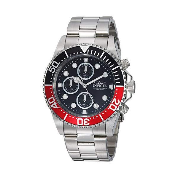 インビクタ 腕時計 INVICTA インヴィクタ 時計 プロダイバー Invicta Men's 'Pro Diver' Quartz Stainless Steel Diving Watch, Color:Silver-Toned (Model: 1770)