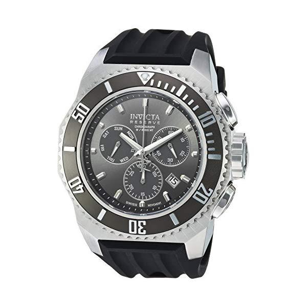 インビクタ 腕時計 INVICTA インヴィクタ 時計 ロシアンダイバー Invicta Men's 'Russian Diver' Quartz Stainless Steel and Silicone Casual Watch, Color:Black (Model: 25729)