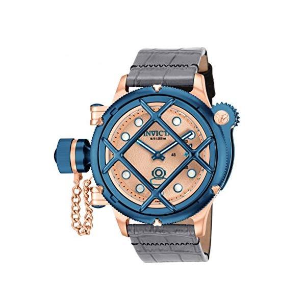 インビクタ 腕時計 INVICTA インヴィクタ 時計 ロシアンダイバー Invicta Men's 16179 Russian Diver Analog Display Mechanical Hand Wind Leather Watch
