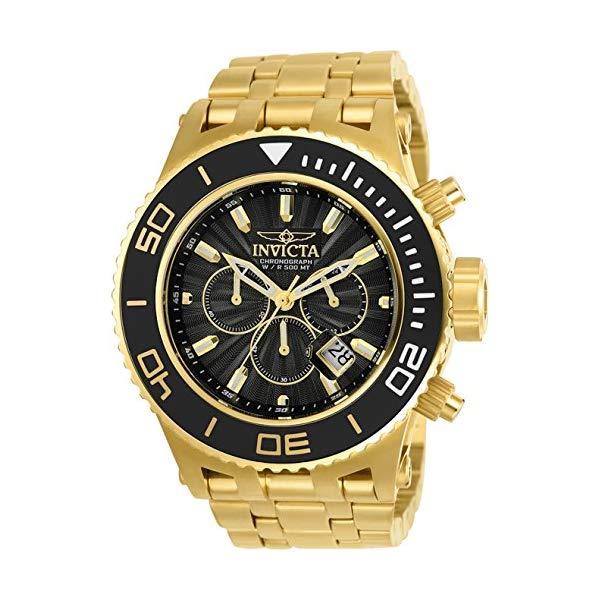 インビクタ 腕時計 INVICTA インヴィクタ 時計 サブアクア スペシャリティ Invicta Subaqua Specialty Mens Quartz 52Mm Gold, Black Case Black Dial - Model 23936