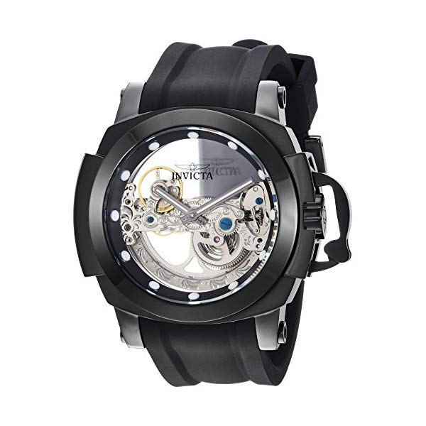 インビクタ 腕時計 INVICTA インヴィクタ 時計 フォース Invicta Men's 'Coalition Forces' Automatic Stainless Steel and Silicone Casual Watch, Color:Black (Model: 26291)