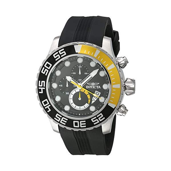 インビクタ 腕時計 INVICTA インヴィクタ 時計 プロダイバー Invicta Men's 'Pro Diver' Quartz Stainless Steel and Polyurethane Casual Watch, Color:Black (Model: 20449)